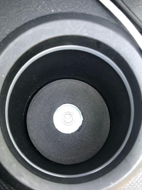 ドリンクホルダー水準器