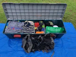衣類、登山用品収納BOX