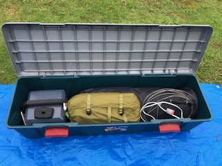 テント、ブルーシート収納BOX