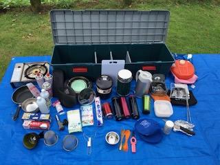 調理器具、食器収納BOX展開
