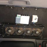 車中泊快適化アイディア プライバシー対応換気扇製作