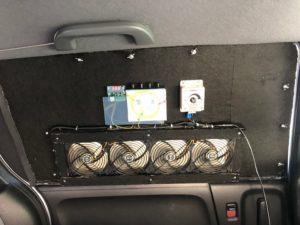 車中泊用換気扇