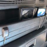車外モニターとスイッチ