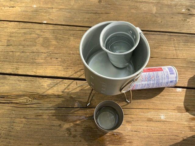 湯煎用タンポと真空断熱カップ
