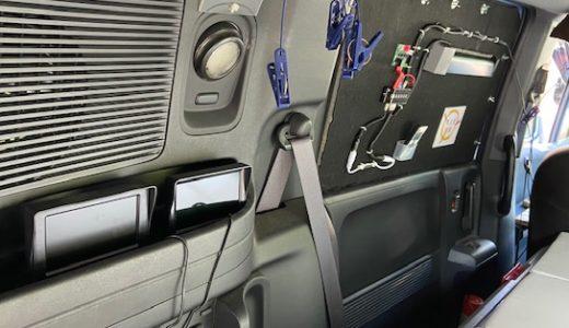 車中泊用換気扇3号機(クロスフローファン )