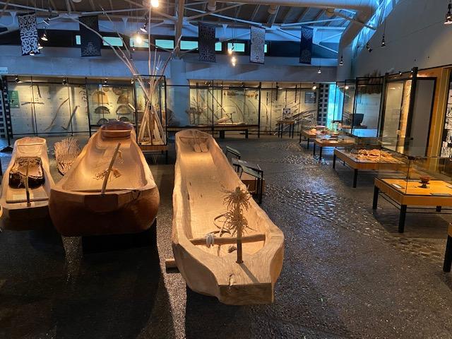 二風谷アイヌ文化博物館の展示は豊富です
