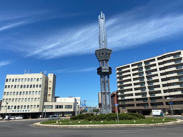 旭川のシンボルタワー