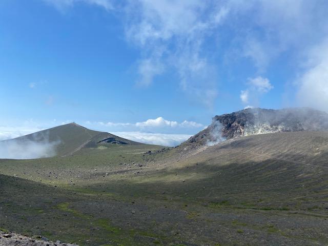 頂上近くに行くとこの景色が出てきます