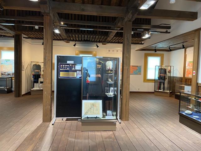旧日本陸軍関連の展示