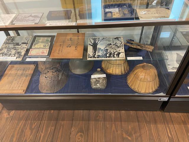太平洋戦争の遺品