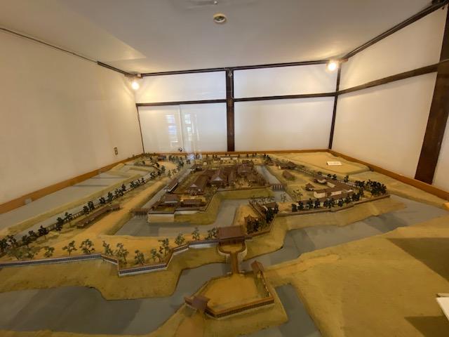 鶴岡城の模型や鶴岡藩の歴史など