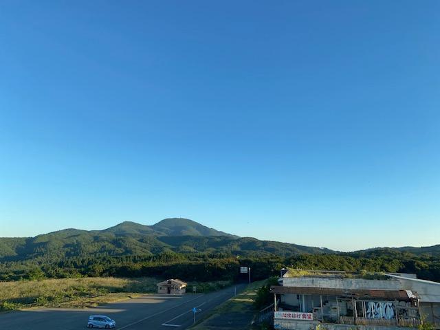 入道崎近くにある八望台へ