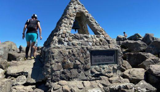 岩木山にバテバテで登りました