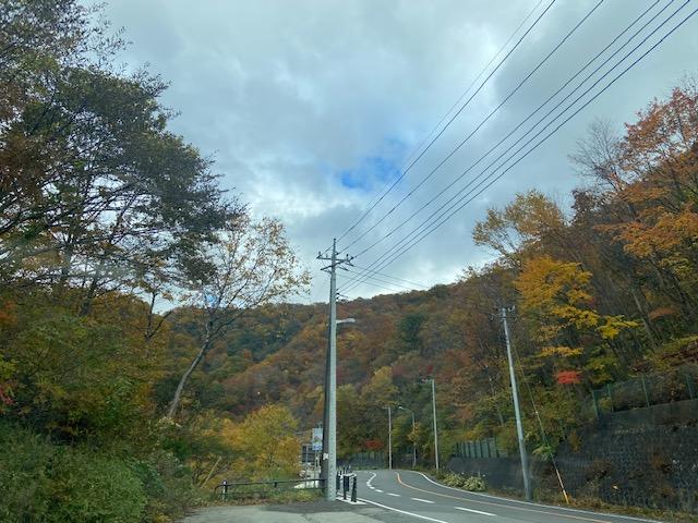 三国峠は紅葉が見頃です