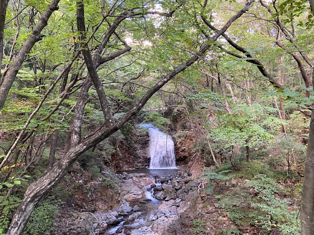 最後にまた滝がありました