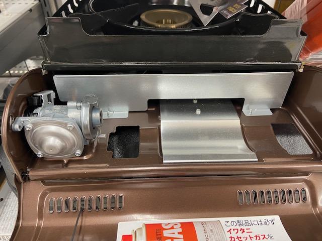 イワタニのアウトドア用のカセットコンロ