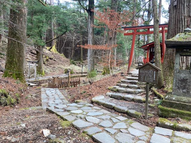 稲荷神社と子種石で終わりの様です