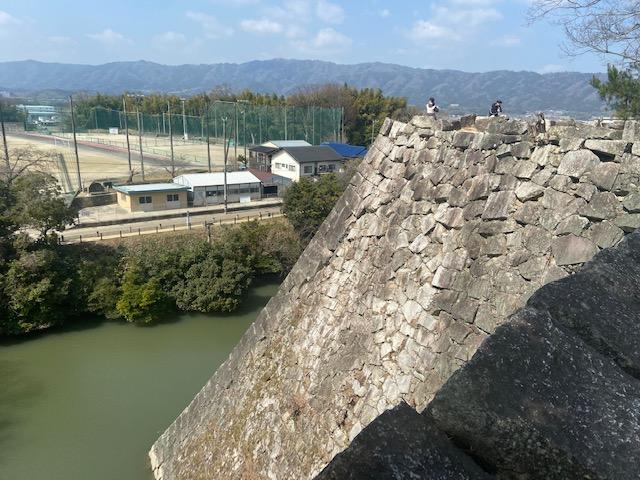 日本一高い石垣