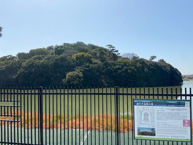 この大きな古墳も仁徳天皇陵に比べてしまうと小さく見えます