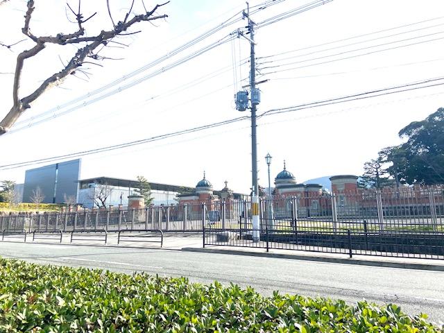 京都博物館に昨年のリベンジ、今年は中に入るぞ