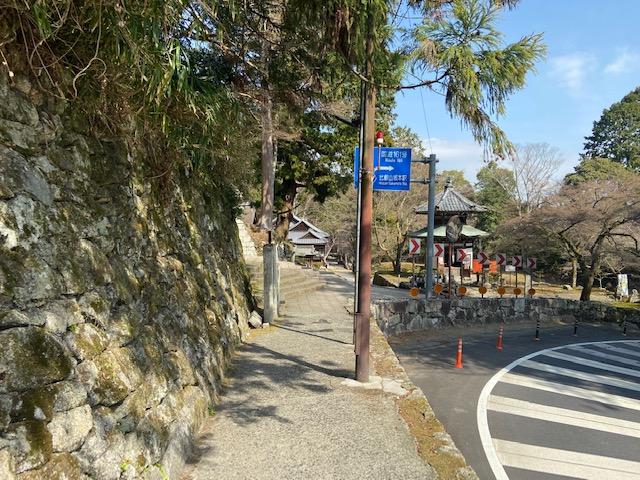すぐに日吉大社の鳥居が見えてきました