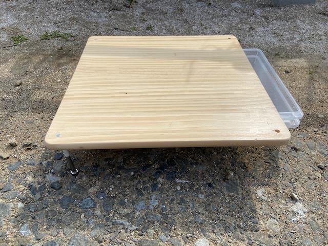 キャンプ用ローテーブル