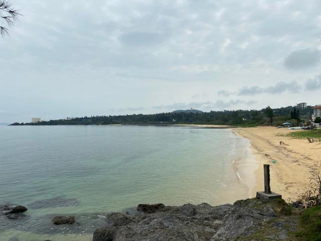 途中の海もすごく綺麗ですが北部はもっと綺麗らしい