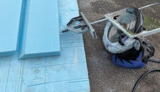 軽トラキャンピングカー製作9(床や天井の加工)